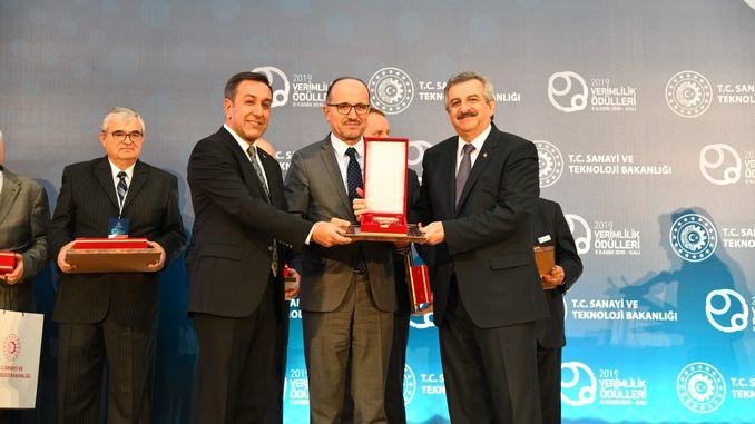 kardemir received the first prize in a sustainable production