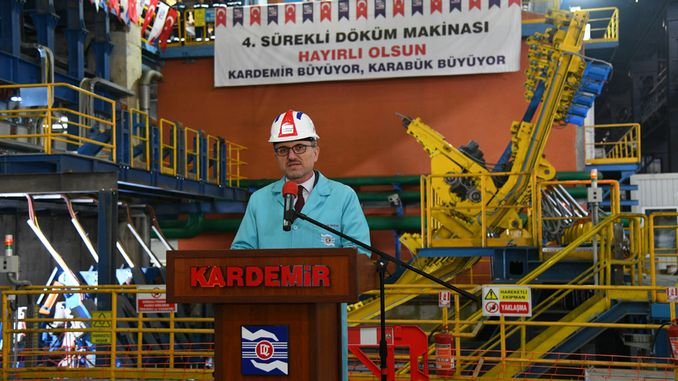 Kardemir reached the target with continuous weaving capacity