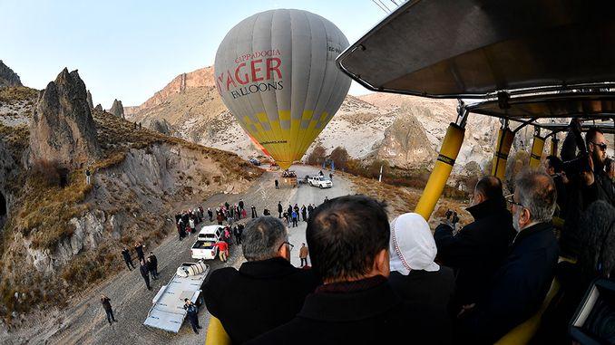 kayseride balon turizmi basladi