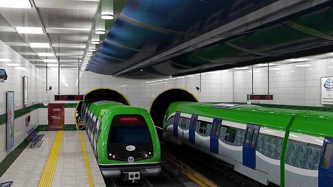 signaturer för konya tunnelbana