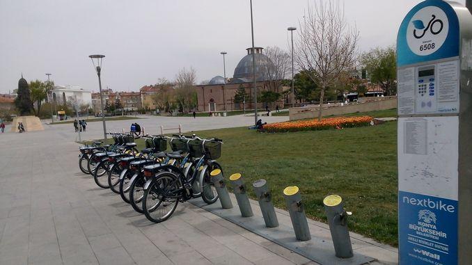 अगली बाइक कोन्या स्मार्ट साइकिल स्टेशनों शुल्क अनुसूची और सदस्य लेनदेन