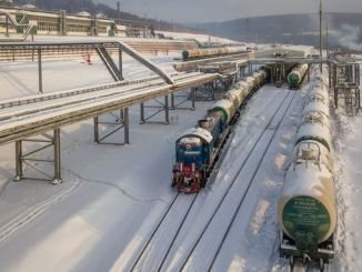 Russian company delivers lpg by gazprom cine railway
