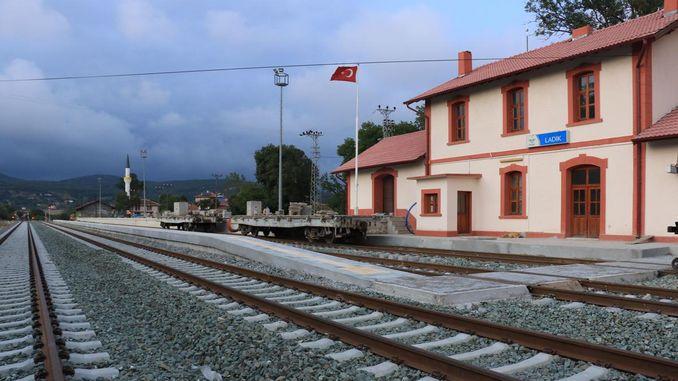 Samsun sivas ferroviario proporcionará grandes aforros