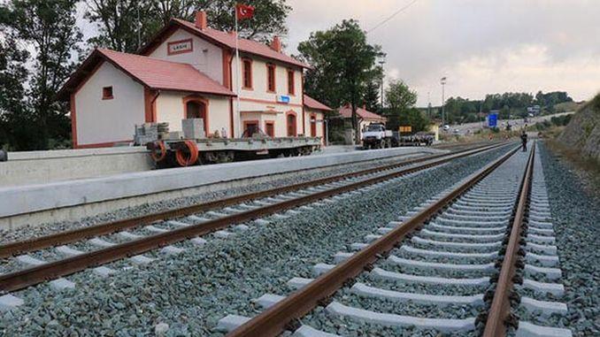 Samsun sivas testna linija započinje na željezničkoj pruzi