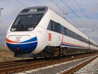 σημαντική ανάπτυξη του έργου τρένων υψηλής ταχύτητας sanliurfa