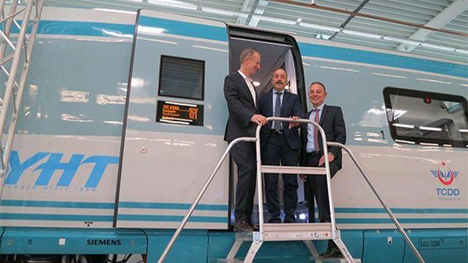 מערכות הרכבת המהירות הראשונות המיוצרות על ידי סימנס