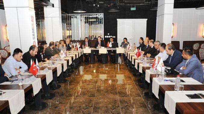 tursid erhvervskommission medlemmer samsunda mødtes