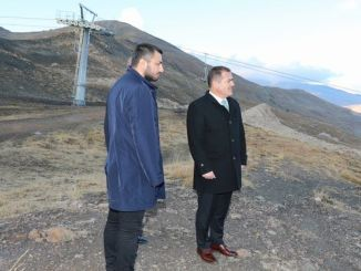 governor made observations in akbiyik hakkari ski resort