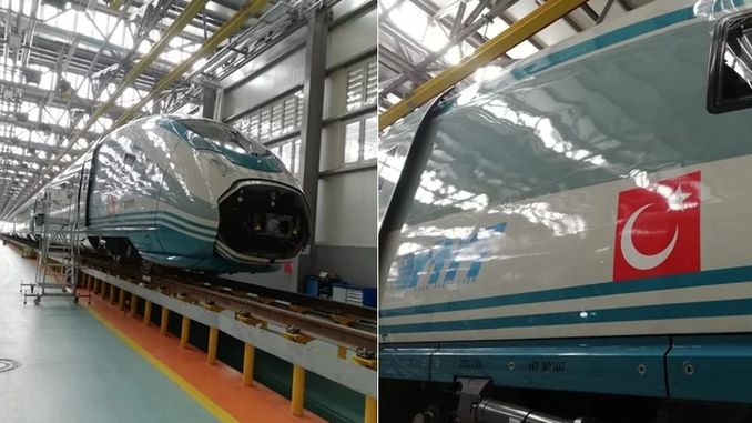 New High Speed ​​Train Set