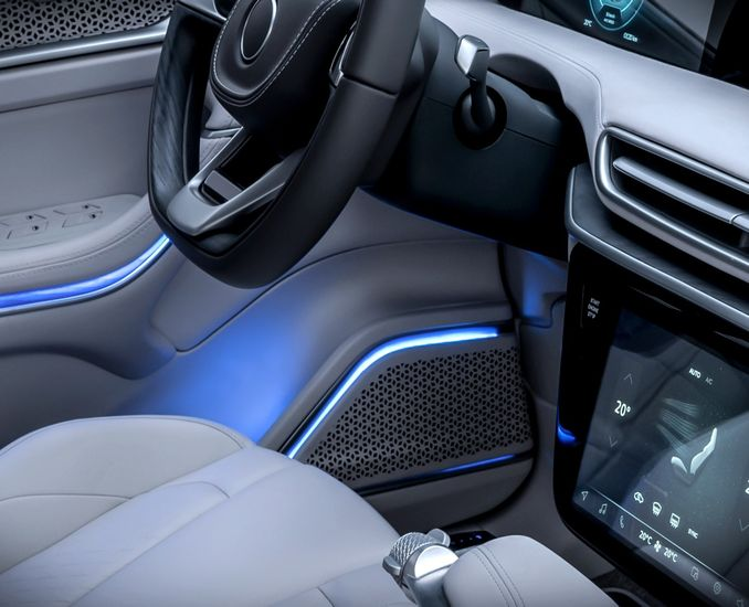 Interior Design of Domestic Cars