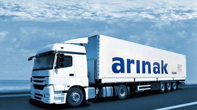 arinak logistics in aserbaidschan transporte