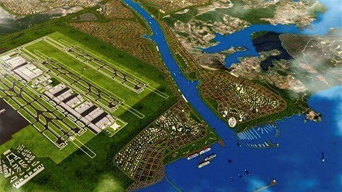 Iwwerliewenden Turhan Kanal istanbul guzergahi bestëmmt