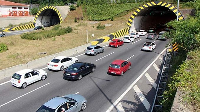Bolu Mountain Tunnel