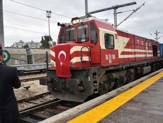 A liña ferroviaria btk transportaba ata agora mil toneladas de mercadorías