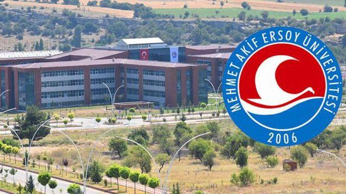Burdur Mehmet Akif Ersoy University kommer att rekrytera akademisk personal
