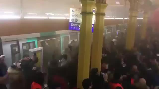 eisenbahnarbeiter besetzen gare de lyon dvd original
