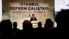 deprem calistayinda konusan imamoglu kanal istanbul cinayet projesidir
