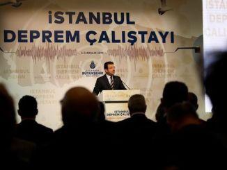 Imamoglu-Kanal sprach im Erdbeben Calistayin Istanbul Mordprojekt