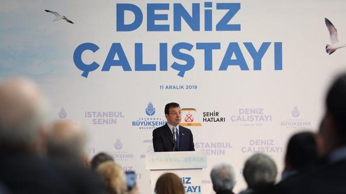 Ekrem İmamoğlu: Kanal İstanbul Building Project?