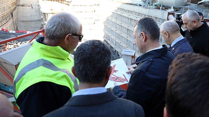 Gebze Darıca Metro Construction Continues at Full Speed