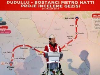 İmamoğlu Dudullu Bostancı Metro Şantiyesinde İncelemelerde Bulundu