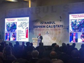 O terremoto de Istambul comezou a Calistayi