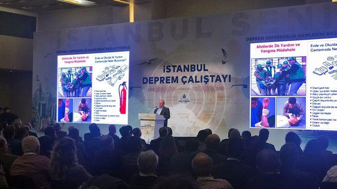 Стамбульський землетрус розпочав Калістаї