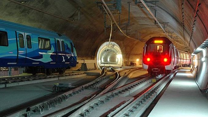Istanbul metro investments took the largest share in the budget