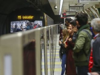 istanbul metro close to million passengers