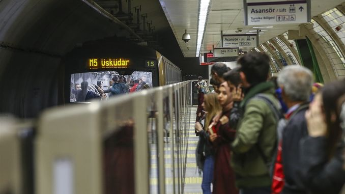 better quality air breathing in istanbul subways