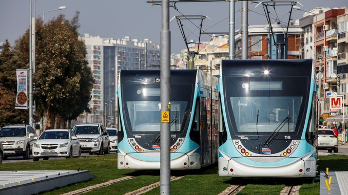 İzmir Karşıyaka Tram Timetable Stations Schedule and Map