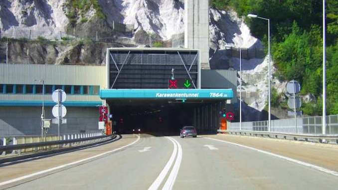 Ibi ti ikojọpọCengiz İnşaat bori Slovenia Karawanken Tunnel Construction Tender