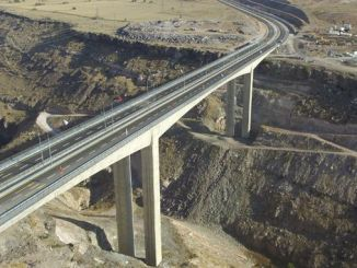 kayseri derevenk viadugu was completed and opened for service