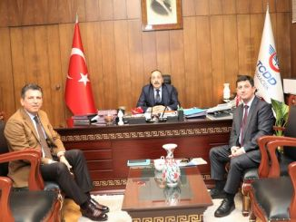 Ambassador of Kazakhstan visited General Manager Yazıcı at his office