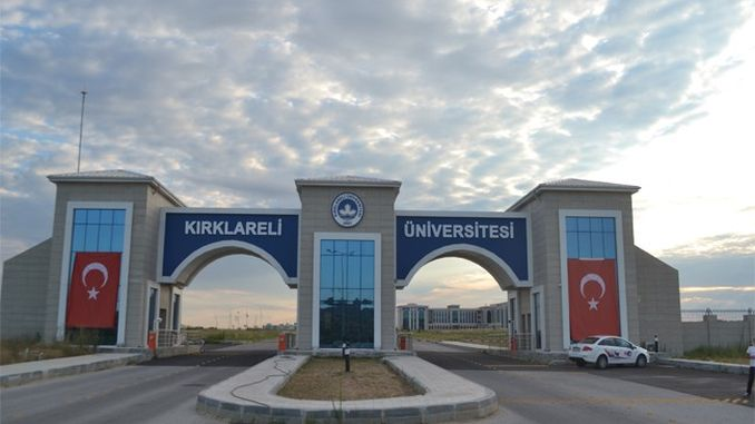 kirklareli university will recruit academic staff