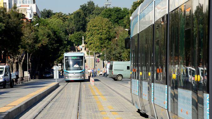 Konyalılar Aufmerksamkeit Alaaddin Selcuk Universität Straßenbahn