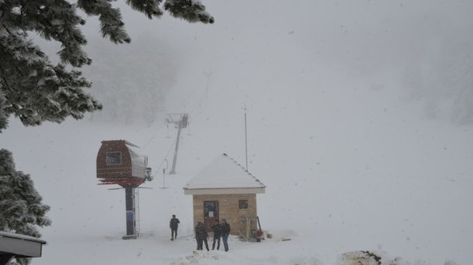 murat dagi thermal ski center is waiting for visitors