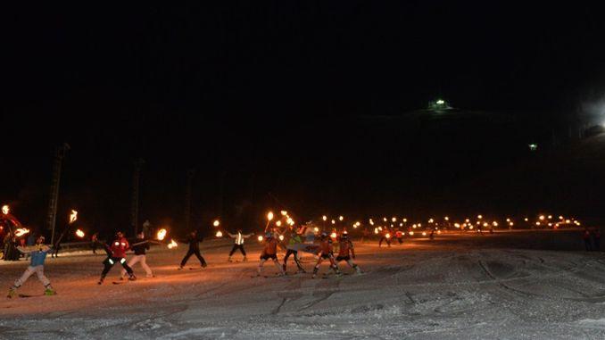 säsongen öppnas i Palandoken skidort