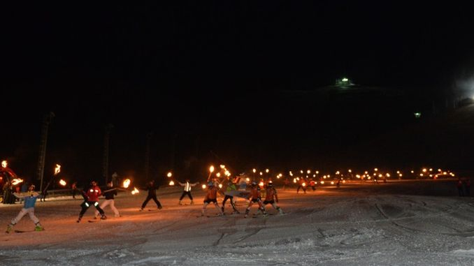 saison eröffnet in palandoken ski resort