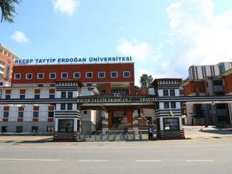 A universidade recep tayyip erdogan contratará persoal académico