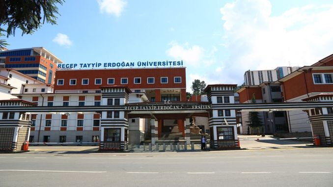 recep tayyip erdogan university will recruit academic staff