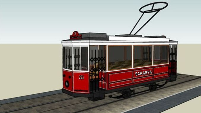 sakarya nostalgic tram project is announced to the public