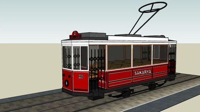 Il-proġett tat-tram nostalġiku sakarya huwa mħabbar għall-pubbliku