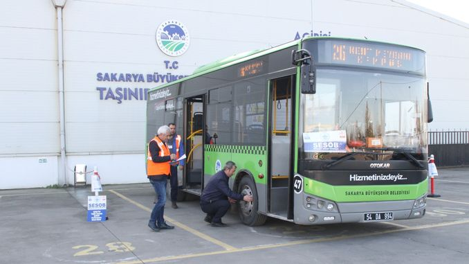 certified program for public transportation vehicles of sakarya