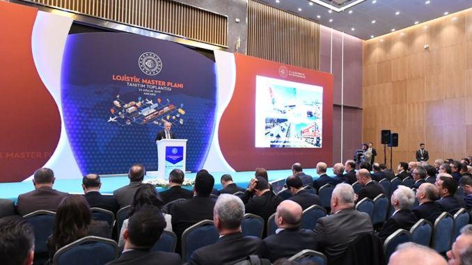 عقد اجتماع المخطط التمهيدي تركيا الخدمات اللوجستية في أنقرة YHT غاري