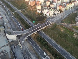 Tuzla Şifa Çayırova Connection Bridge Works Continue