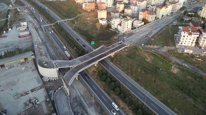 Tuzla Şifa Çayırova Connection Bridge Works Continue