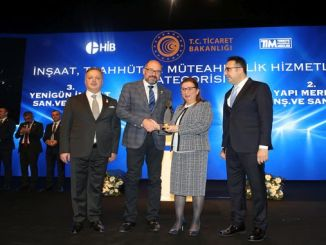 construction center service exporters received second prize