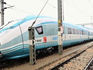 primeras imágenes del nuevo conjunto de trenes de alta velocidad compartidas