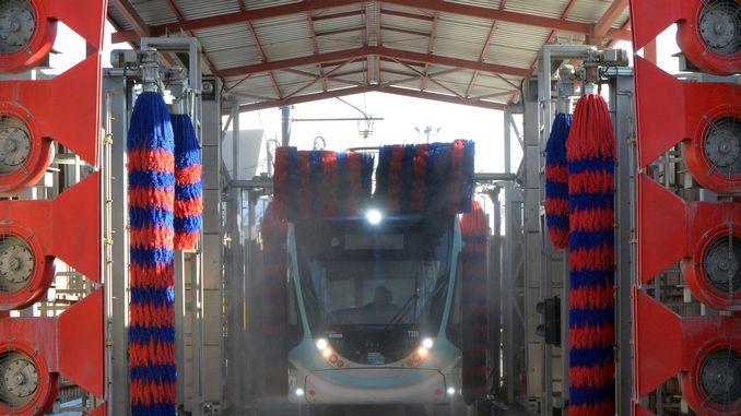 Bottom Corner Cleaning in Public Transport Vehicles of Izmir